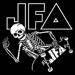 JFA - Skate To Hell Aufnäher