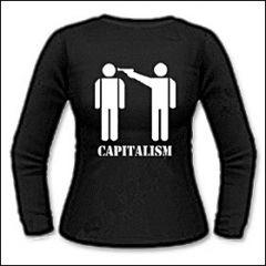Capitalism - Girlie Longsleeve