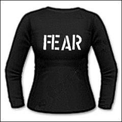 Fear - Logo Girlie Longsleeve