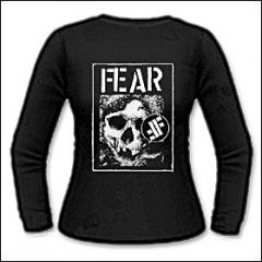 Fear - Skull Girlie Longsleeve
