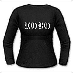Koro - Logo Girlie Longsleeve