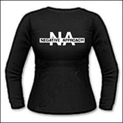 Negative Approach - Logo Girlie Longsleeve