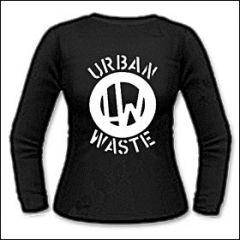 Urban Waste - Logo Girlie Longsleeve