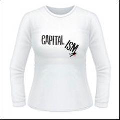 Capitalism - Ism Girlie Longsleeve