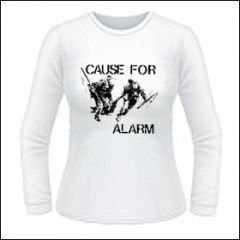 Cause For Alarm - Girlie Longsleeve