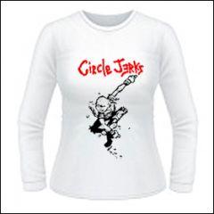 Circle Jerks - Skanking Kid Girlie Longsleeve