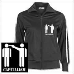 Capitalism - Girlie Trainingsjacke
