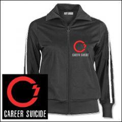 Career Suicide - Logo Girlie Trainingsjacke