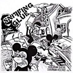 Sniffing Glue - Suburban Suicide, Suburban Violence 7
