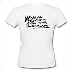 Septic Death - Make An Effort Girlie Shirt