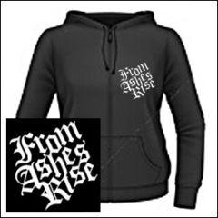 From Ashes Rise - Logo Girlie Zipper