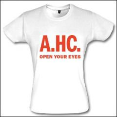 America's Hardcore - Open Your Eyes Girlie Shirt
