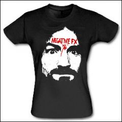 Negative FX - Charles Manson Girlie Shirt