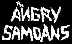 Angry Samoans - Logo Aufnäher