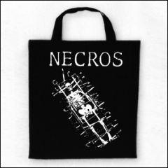 Necros - Skeleton Tasche (Henkel kurz)