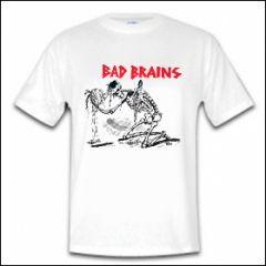Bad Brains - Skeleton Shirt