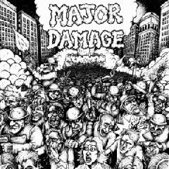 Major Damage - Sheer Mayhem 7""
