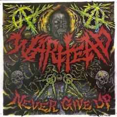 Warhead - Never Give Up LP