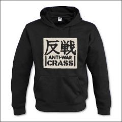 Crass -  Anti-War Hooded Sweater