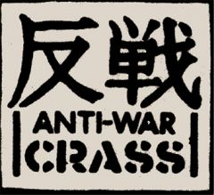 Crass - Anti-War Aufnäher