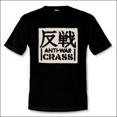 Crass - Anti-War Shirt