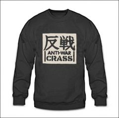 Crass - Anti-War Sweater