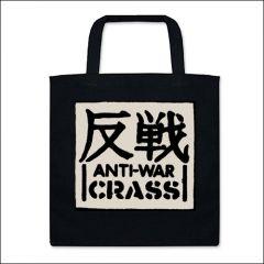 Crass - Anti-War Tasche (Henkel kurz)