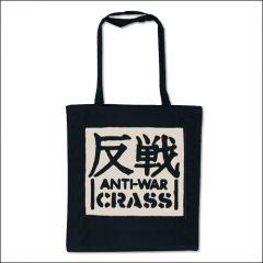 Crass - Anti-War Tasche (Henkel lang)
