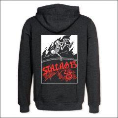 Stalag 13 - Skeleton Skater Zipper