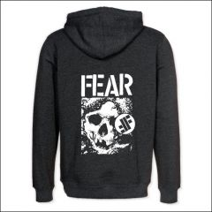 Fear - Skull Zipper