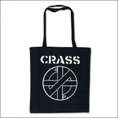 Crass - Logo Tasche (Henkel lang)
