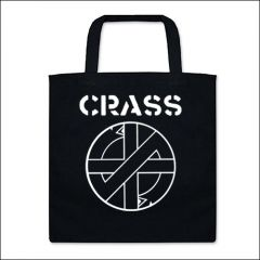 Crass - Logo Tasche (Henkel kurz)