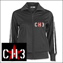 Channel 3 - Logo Girlie Trainingsjacke