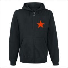 Roter Stern - Zipper