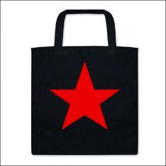 Roter Star - Tasche (Henkel kurz)