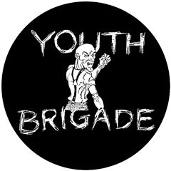 Youth Brigade - Skinhead Button