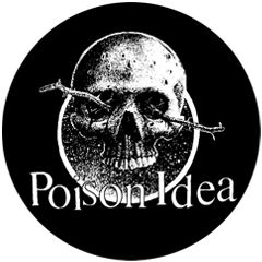 Poison Idea - Skull Button