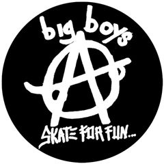Big Boys - Skate For Fun Button