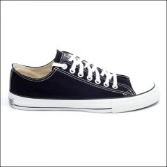 Fair Trainer Classic Low Top Sneaker schwarz/ weiß