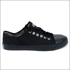 Black Cap Low Top Sneaker schwarz/ schwarz