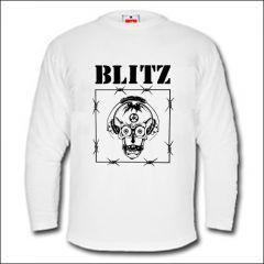 Blitz - Razor Skull Longsleeve