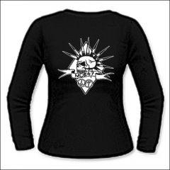 Mob 47 - Skull Girlie Longsleeve