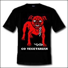 Go Vegetarian - Shirt (reduziert)