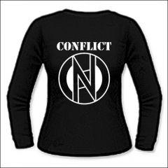 Conflict - Logo Girlie Longsleeve