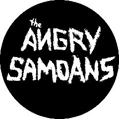 Angry Samoans - Logo Button