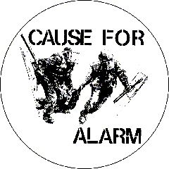 Cause For Alarm - Button