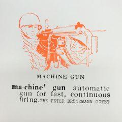 Peter Börtmann Octet - Machine Gun LP