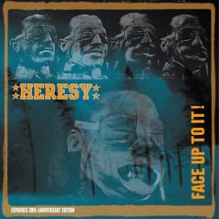 Heresy - Face Up To It 2xLP 30 aniversary edition