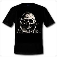 Poison Idea - Skull Shirt (reduziert)