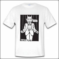 Black Flag - Devil Shirt (reduziert)